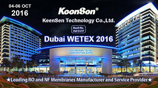 KeenSen will attend Dubai WETEX 2016