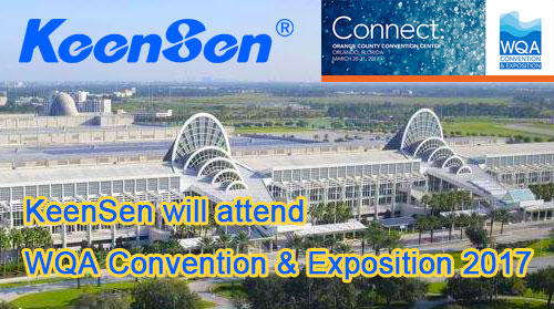 KeenSen will attend WQA Convention & Exposition 2017