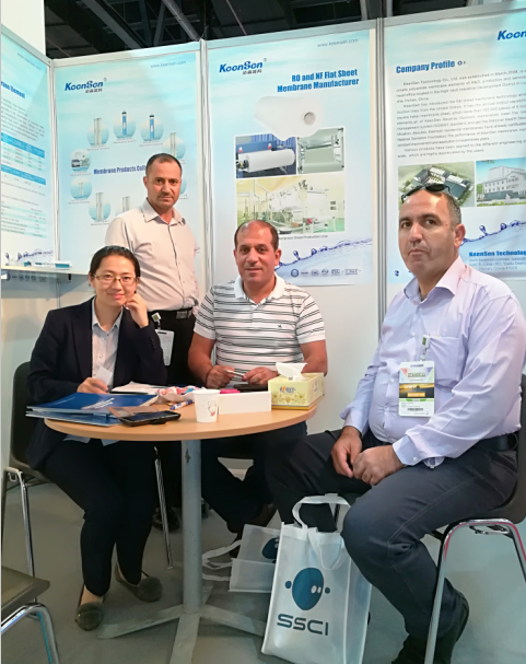 exhibition picture --WETEX in Dubai