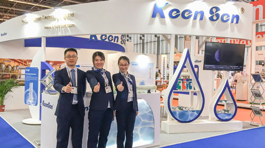 "Keensen Exhibit ""Sea Water Membranes"" at Dubai WETEX and Aquatech Amsterdam 2017"