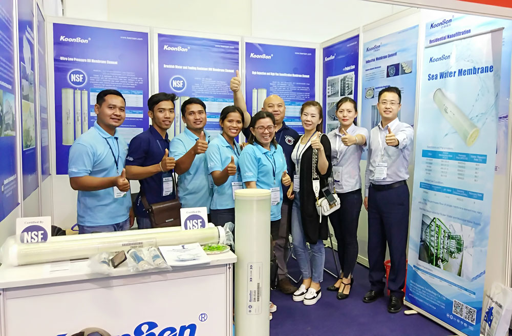 Keensen Technology Successfully Participated  VIETWATER 2018
