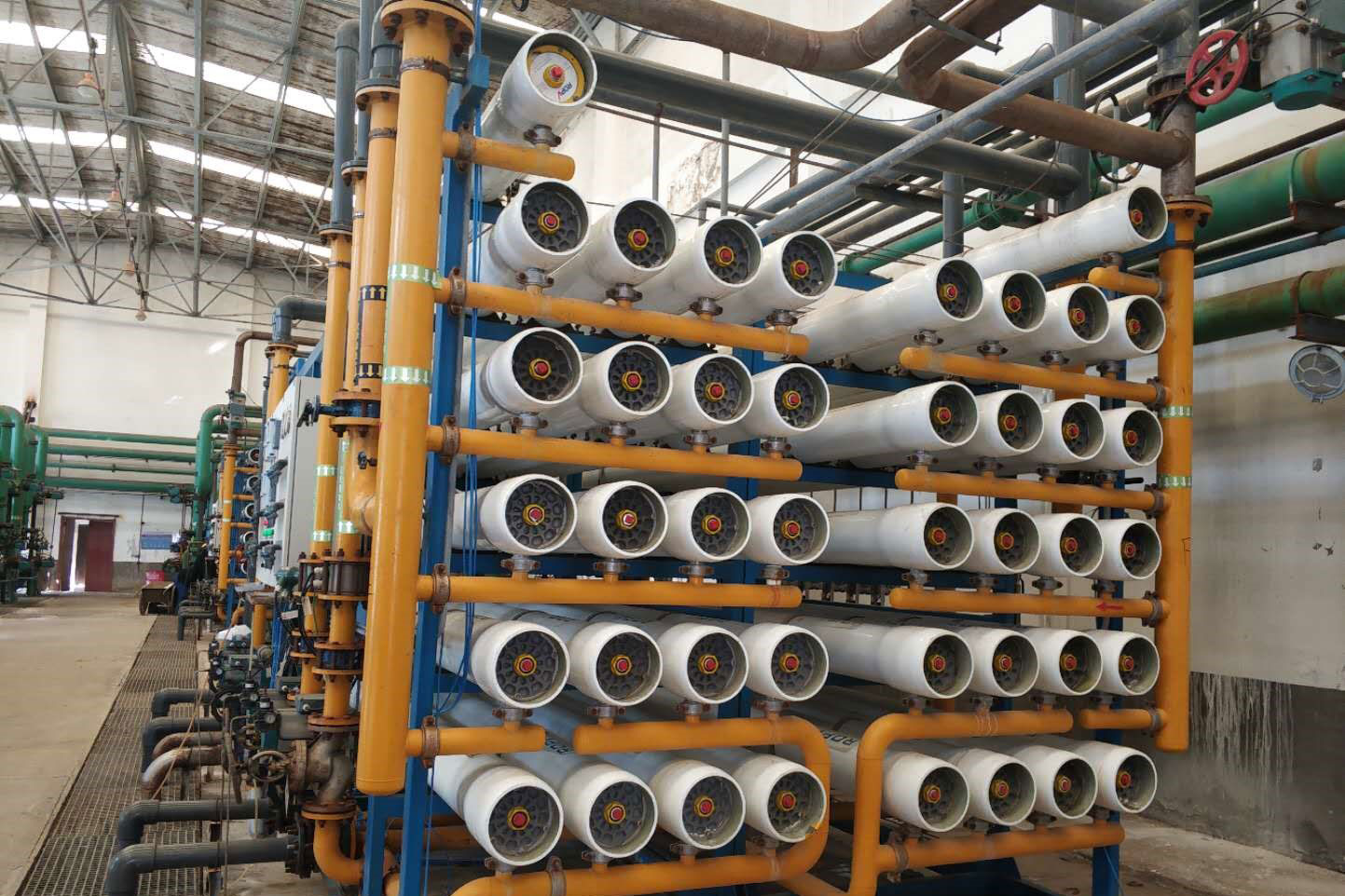 Waste water reuse project in Australia