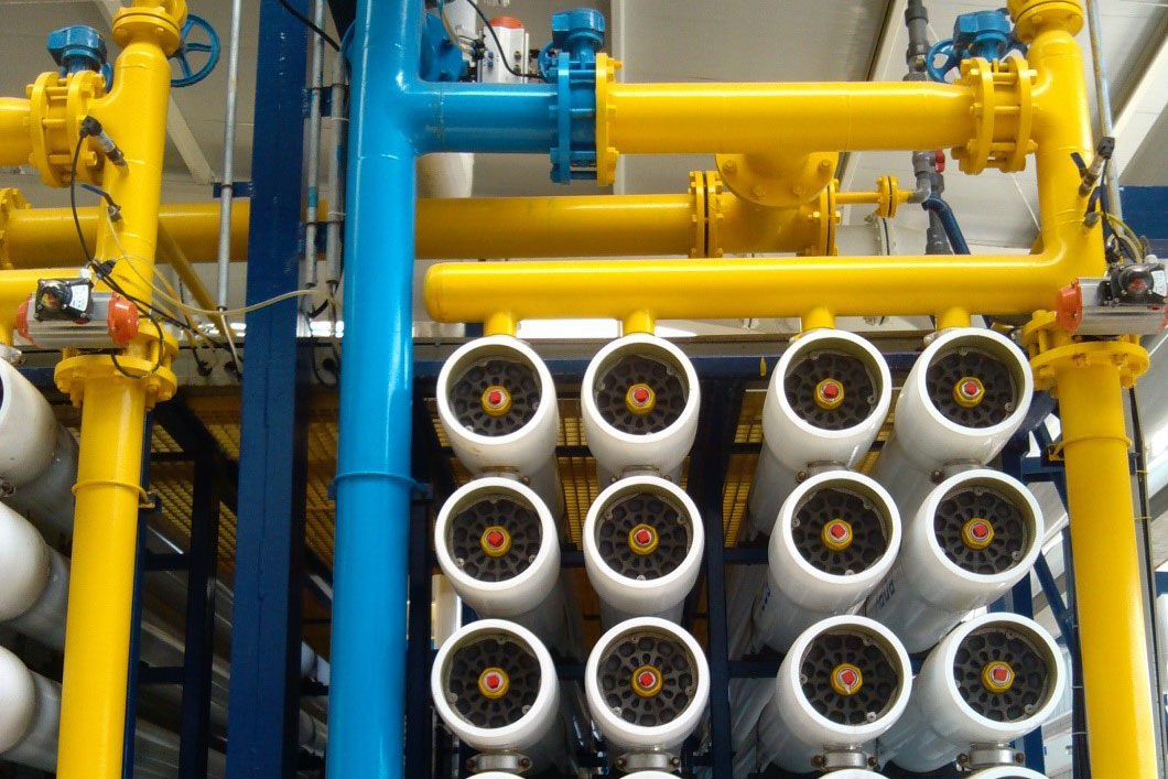 Sea water desalination projects for petroleum industry in Australia